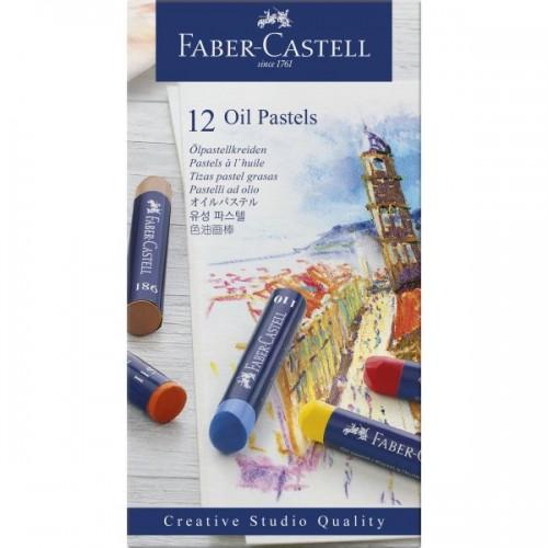 FABER GOLDFABER OIL PASTELS SET OF 12