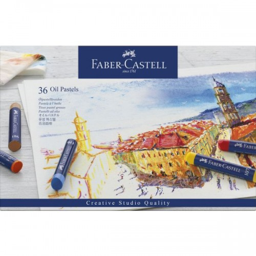 FABER GOLDFABER OIL PASTELS SET OF 36