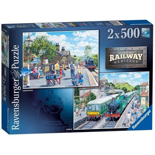 ravensburger Railway herit 1000 piece puzzle