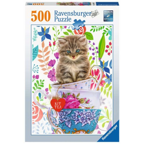ravensburger kitten in a cup 500 piece puzzle