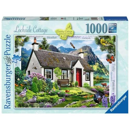 ravensburger Lochside cottage 1000 piece puzzle