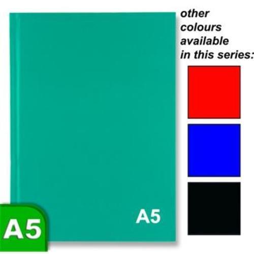 A5 160pg Hard Back Notebook