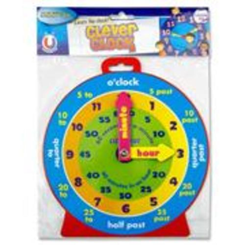 CLEVER KIDZ 23cm MAGNETIC CLEVER CLOCK