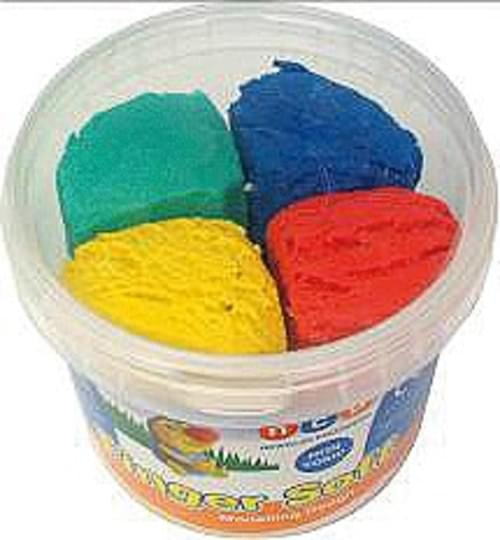 Finger Soft Dough 4 per pot