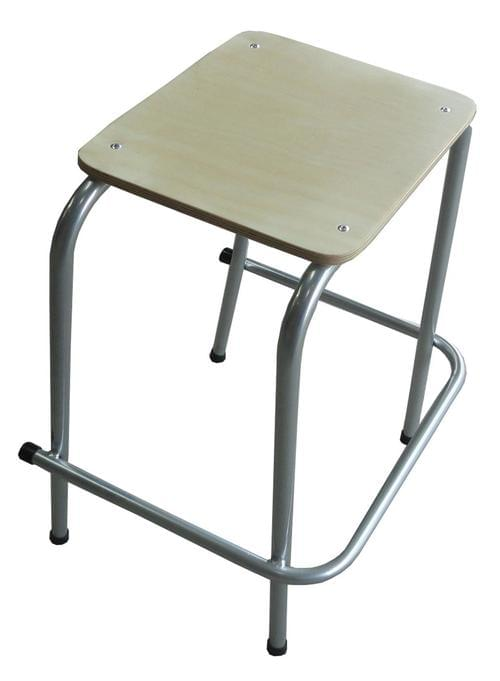 TRADITIONAL STACKING STOOL 450MM