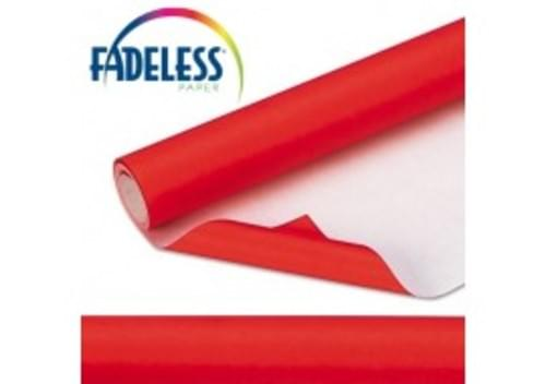 Red Fadeless 1218mm x 3.6m