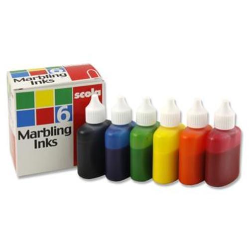 Marbling Ink set 6