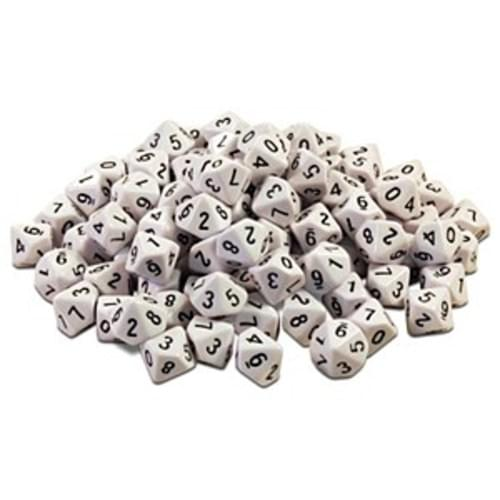10 Sided dice pack 10