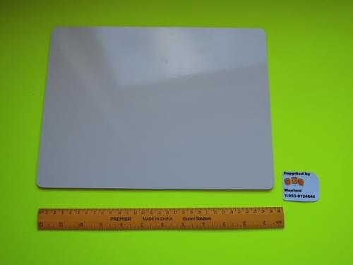 A4 Magnetic board - Double side - one side magnetic -