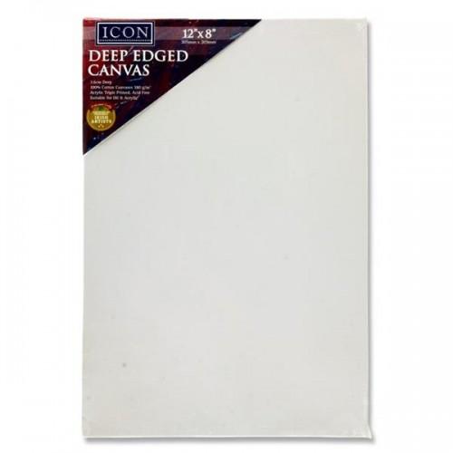 "Icon Deep Edged Canvas 380gm2 - 12""x8"""