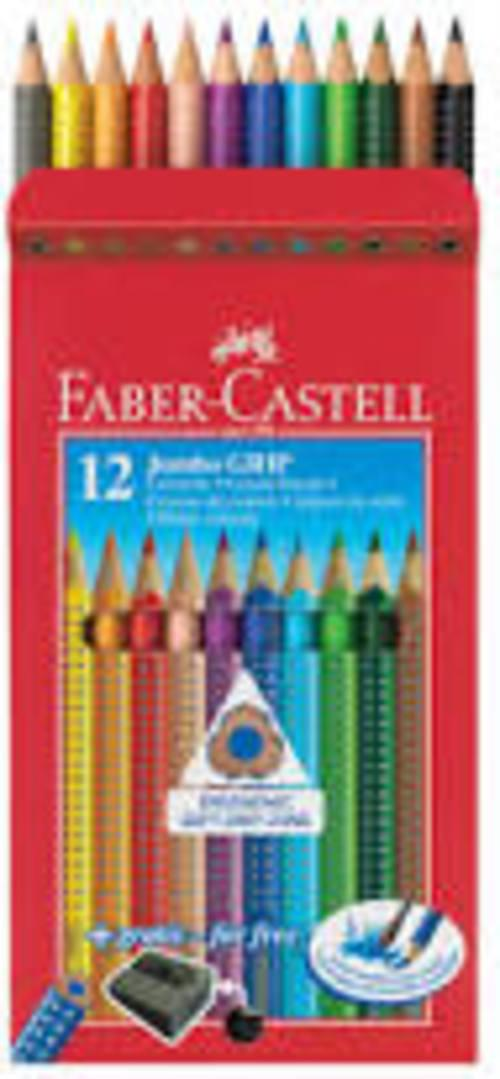 Faber Junior Grip Pencil box 12