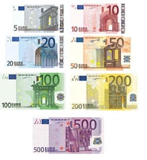 Euro Notes set 11, 3x