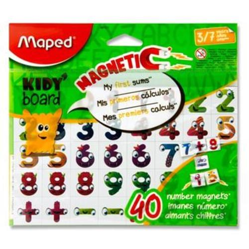 MAPED KIDY BOARD PKT.40 MAGNETIC NUMBERS