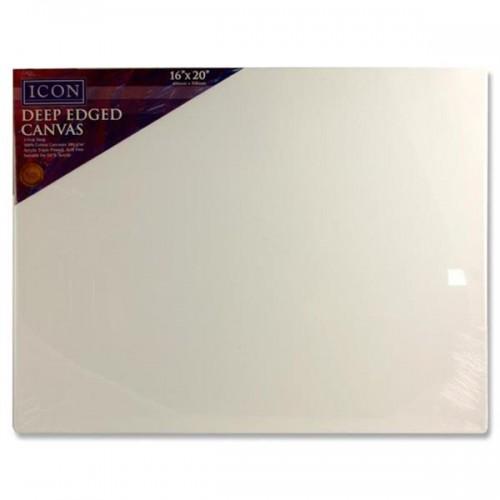 "Icon Deep Edged Canvas 380gm2 - 16""x20"""