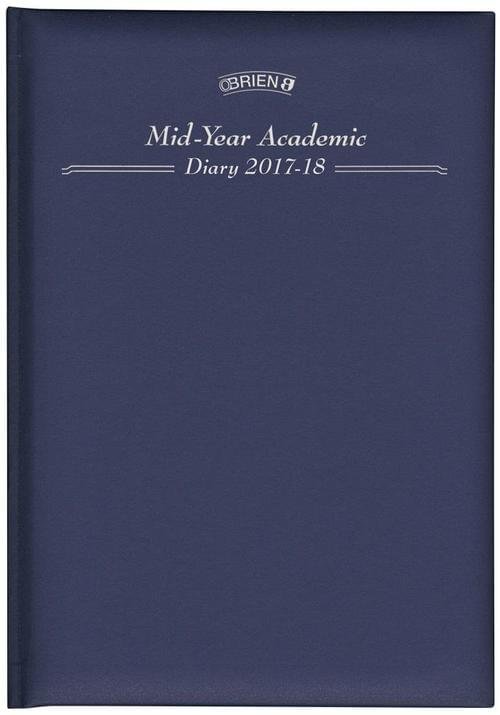 A5 O Brien Day-Page Mid Year Academic Diary