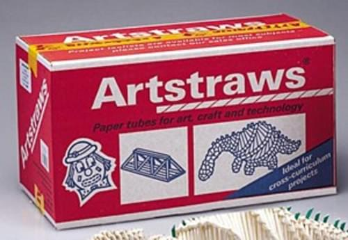 White art straws 4mm  1800 strws