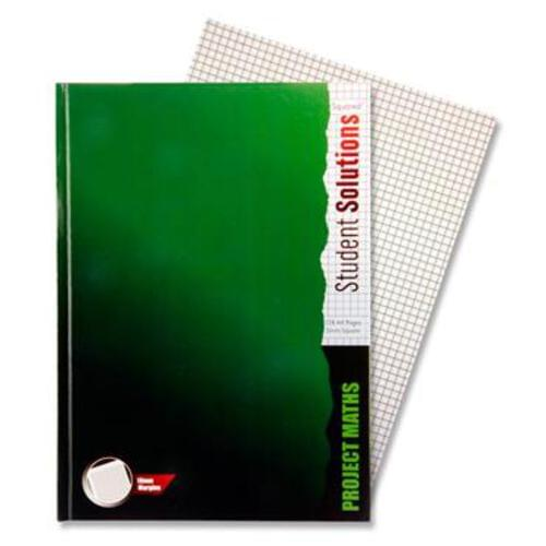 A4 128Pg 5Mm Sq Hardcover Project Maths