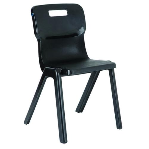 TITAN SCHOOL CHAIR 460MM, AGE 13+, COLOUR: CHARCOAL
