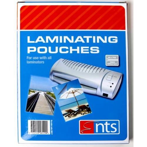 NTS A4 LAMINATING POUCHES 150MICRON, BOX 100