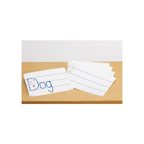 Dry-Erase Board - With Lines Pack 10
