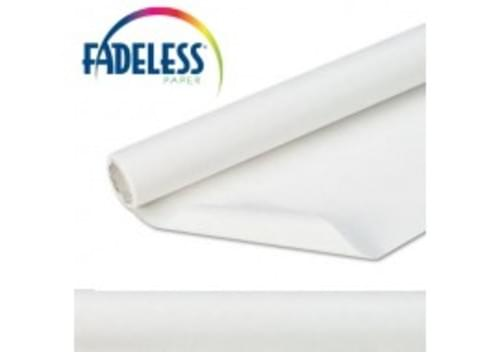 White Fadeless 1218mm x 3.6m