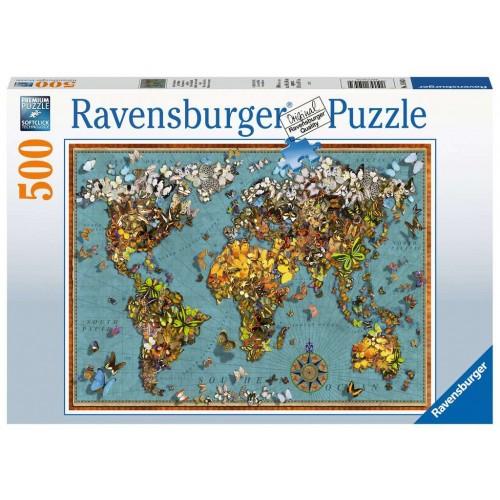 Ravensburger World of Butterflies - 500pcs