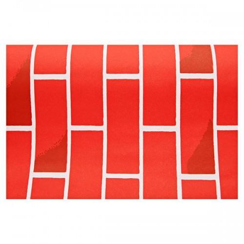 1218mm X 3.6m Roll Fadeless Paper - Tutone Brick