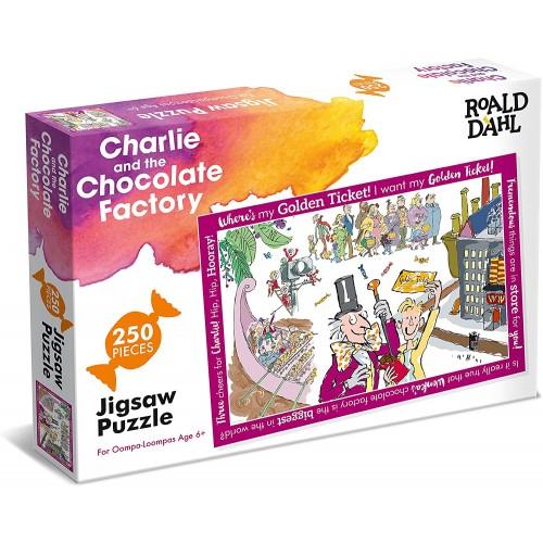 Roald Dahl Charlie and the Chocolate Factory 250pcs Jigsaw
