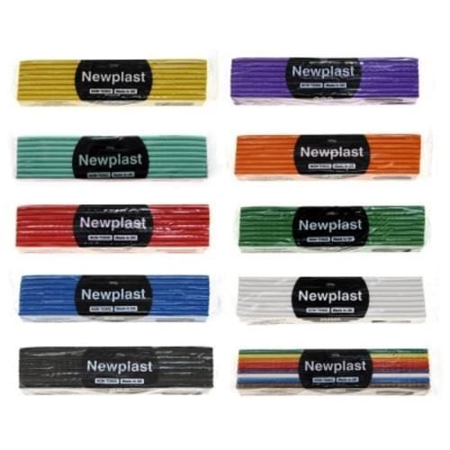 Rainbow-Assorted colour PLASTICINE  0.5kg