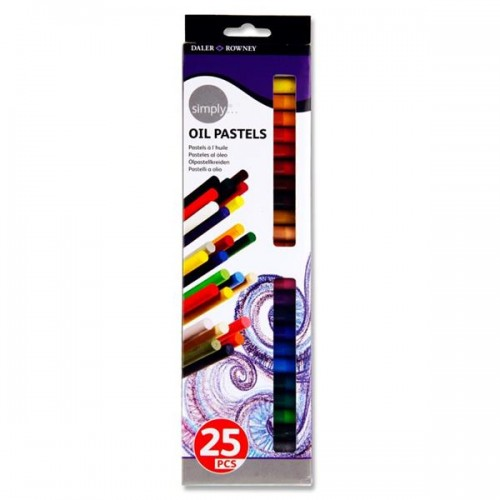 Daler Rowney Simply...box 25 Oil Pastels