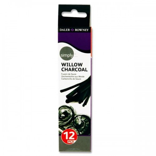 Daler Rowney Simply...box 12 Willow Charcoal
