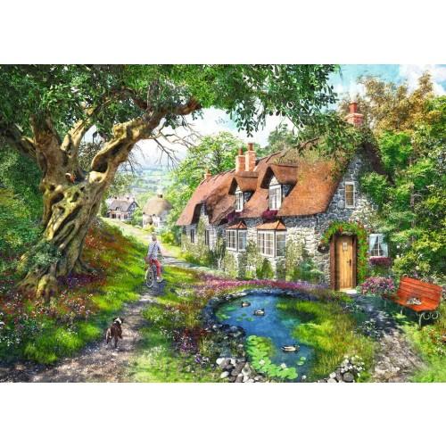 Ravensburger No.1 Flower Hill Lane 1000 Piece Jigsaw