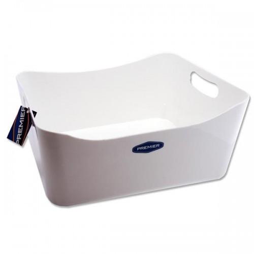 Premier Universal 340x225x140mm Storage Basket Large - White