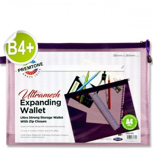 Premtone B4+ Ultramesh Expanding Wallet - Grape Juice