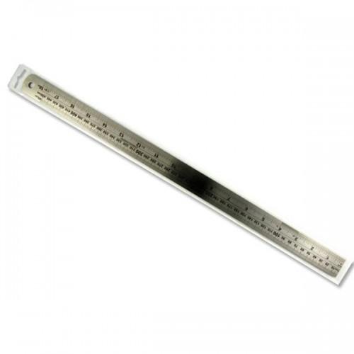 """Premier 18""""/45cm Deadlength Steel Ruler"""