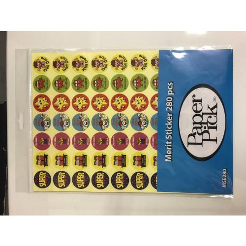 Merit Stickers English pack 280