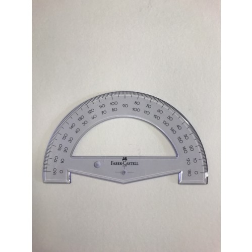 Faber Castell 15cm Protractor