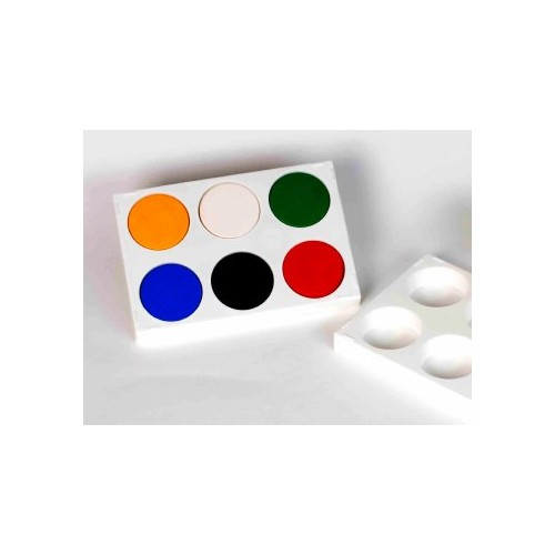 Six Well Paint Palette,