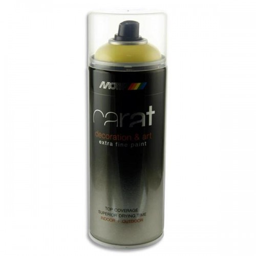 Carat 400ml Can Art Spray Paint - Easter Yellow
