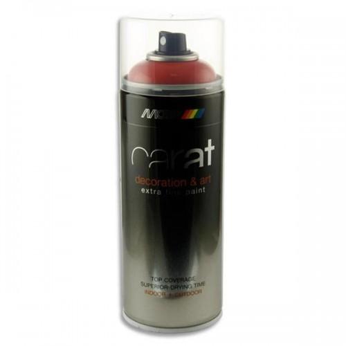 Carat 400ml Can Art Spray Paint - Traffic Red