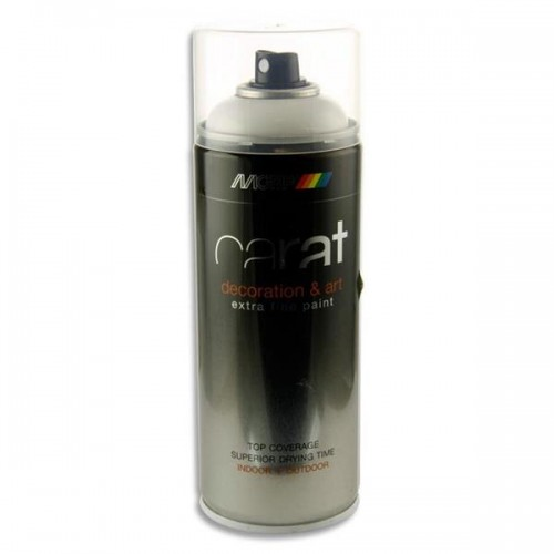 Carat 400ml Can Art Spray Paint - Pure White