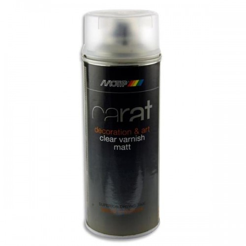 Carat 400ml Can Art Spray Varnish - Matt