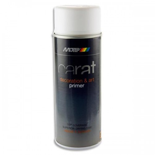 Carat 400ml Can Art Spray Primer - Clear