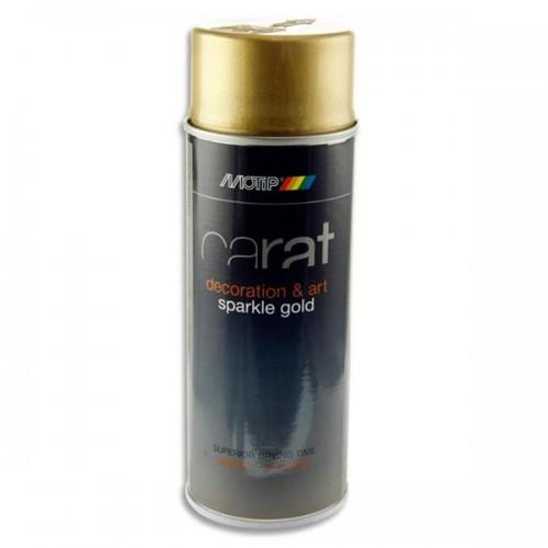 Carat 400ml Can Art Spray Paint - Gold