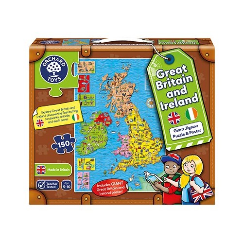 ORCHARD TOYS GREAT BRITAIN AND IRELAND