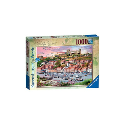 ravensburger Whitby sunset 1000 piece puzzle