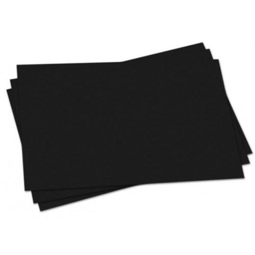 A/2 Black Sugar Paper pk 250