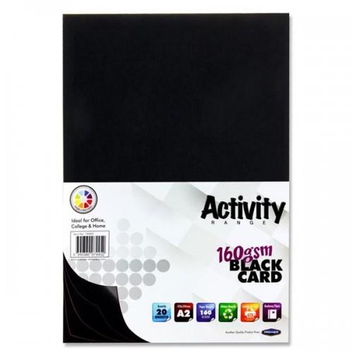 A2 BLACK CHARTBOARD PACK 100
