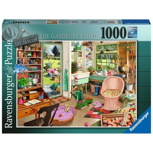 Ravensburger My Haven No. 8 The Garden Shed 1000 Piece Jigsaw