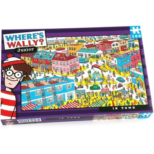 Where's Wally Junior in Town 100pcs Jigsaw